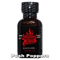 Попперс RUSH ULTRA STRONG Black 30 ml